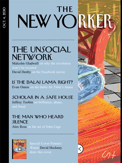 The New Yorker on iPad