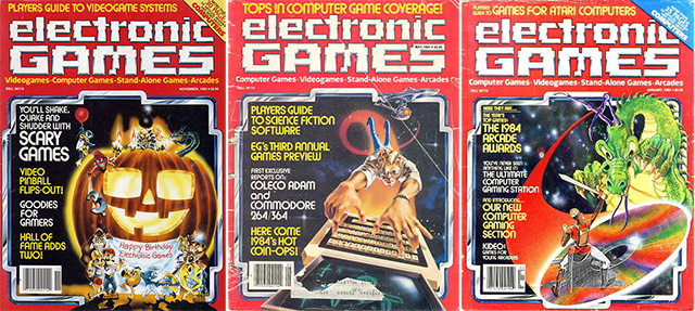 Electronic Games Magazine